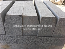 G603 Grey Granite Kerbstones,Kerbs,Flamed