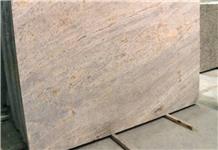 Ivory Fantasy Granite Slabs, India Golden Yellow Granite