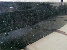 Mint Blue Granite Slabs & Tiles, India Black Granite