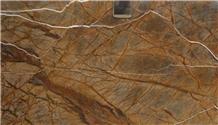 Rainforest Dark Brown Marble