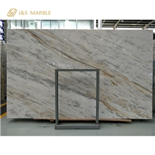 China Own Factory Lafite White Jade Marble