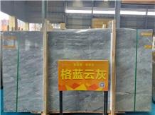 Chinese Blue Marmol Big Stock Elegant Decoration