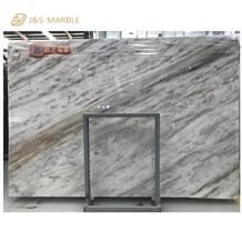 Custom Size Cutting Lafite White Marble