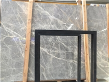 Turkey Hermes Grey Marble with White Lines