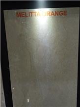 Melitta Orange Marble Slabs