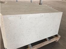 White with Veins Crushed Glass Stone Quartz