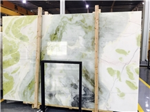 Forest Green Onyx Slabs