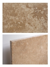 Travertine Tile- Cross Cut/Vein Cut, Honed, Filled