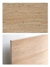 Travertine Tile - Vein-Cut, Antique, Unfilled