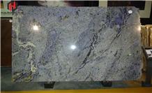 Azul Bahia Granite Tiles Slab Wall Covering