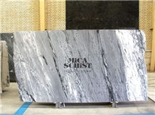 Iranian Gray-Blue Crystal Marble Slabs