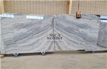 Light Crystal Marble Stone Slabs