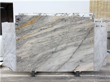 Persian White Crystal Marble Slabs