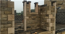 York Stone Reclaimed Walling Stone