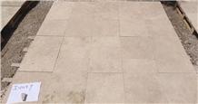 Ivory Travertine Tumbled Tiles