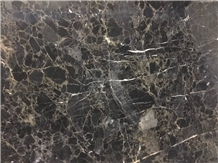 Black Conglomerat Marble Slabs, Tiles