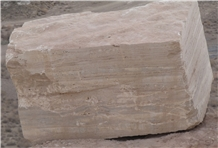 Gazanbar Beige Travertine Blocks