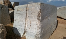 Gazanbar Silver Travertine Blocks