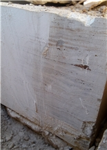 Gazanbar White Travertine Blocks