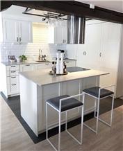 Caesarstone Noble Gray Quartz Kitchen Countertop