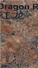 Dragon Red Granite Slabs, Tiles