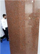 Red Sapphire Granite Slabs, Tiles
