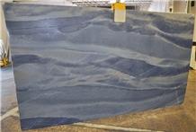 A Quality Azul Macaubas Quartzite Slab