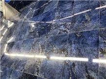 Azul Bahia Granite Slab Floor Tiles Pattern Bathroom