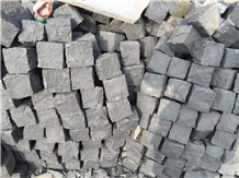 Black Basalt Cubes,Pavers,Natural Split