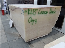 Klb Lemon Peach Onyx Blocks
