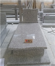 China G664 Granite Tombstone Manufacturer
