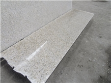 Polished Chinese Rusty Yellow G682 Granite Slab