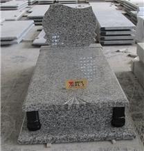 Swan Blue Granite Tombstone Headstones Factory