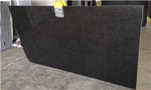 Black Galaxy Granite India Slabs Tiles