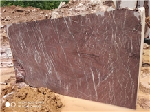 Indo Levanto Red Marble Block, India Red Marble