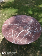 Indo Levanto Red Marble Table Top