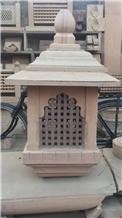 Jodhpur Pink Sandstone Lanterns