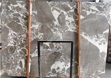 White Fusion Marble Slab