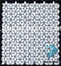 China Diamond Pearl Shell Mosaic Tiles