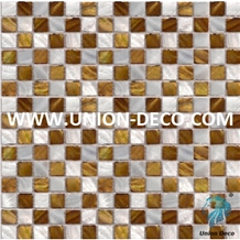 China Yellow Mother Pearl Of Shell Mosaic