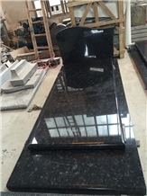 Steel Grey Granite Tombestone