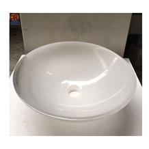 Han White Jade Marble Wash Basin