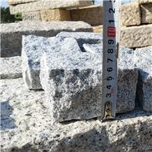 G603 Grey Lunar Pearl Granite Cube Paving Stone