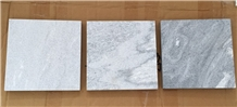 Cloudy Grey Marble/Moon Silver
