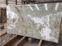 Onyx Emerald Green Slabs X 2 cm Polished