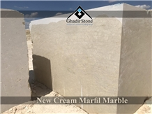 New Cream Marfil Marble Blocks