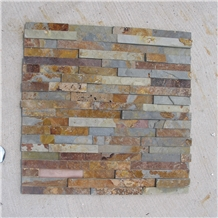 Rusty Slate Cultured Stone Veneer Wall Cladding