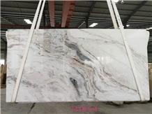 Glorious White Marble Slabs Tiles Wholesale Price