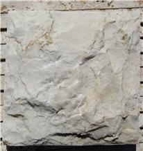 Josheqan Split-Faced White Marble