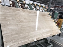 Diano Dino Reale Beige Tiles Slabs Bookmatched